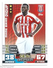 2014 / 2015 EPL Match Attax Base Card (268) Mame Miram DIOUF Stoke City