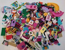 2 lb Pounds Lego Bulk lot Girls Princess Friends Elves Minifig Boat Spiral Slide