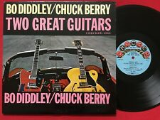 BO DIDDLEY / CHUCK BERRY ~ TWO GREAT GUITARS LP (1964) MONO CHECKER 2991 BLUES