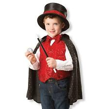 Childrens Magician Fancy Dress Costume for Kids Boys & Girls Magic Melissa & Dou
