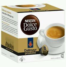 Dolce Gusto Dallmayr Prodomo Coffee Pods 16/Order 16Servings UK stock fast deliv