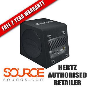 "Hertz Dieci DBA200 8"" Active Subwoofer Box 4 Ohm (Ω) - FREE 2 YEAR WARRANTY"