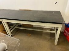 5 Lab Tables With Chem Resistant Tops Amp Metal Frames 62x30x30