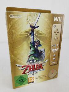 The Legend of Zelda Skyward Sword Limited Edition Nintendo Wii Gold MotionPlus