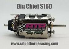 Big Chief S16D Slot Car Drag Motor Pro Slot RTR