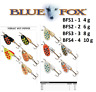 BLUE FOX VIBRAX® HOT PEPPER Fishing Spinners 4g - 10g Various Colours BFS