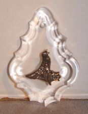 Reed & Barton Sterling & Crystal 12 Days Of Christmas Ornament Calling Birds