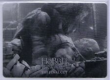 The Hobbit Battle of the Five Armies Thorin Azog Black Printing Plate #76 (1/1)