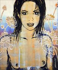 "DAVID BROMLEY Nude ""Belinda"" Signed Limited Edition Print, 93cm x 77cm"