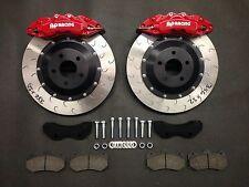 Focus RS MK3 362mm 6pot AP Racing front brake kit BLACK CALIPERS