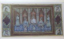 Peinture miniature orientaliste perse Antique persian Old indian painting (2)