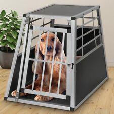 Alu Hundetransportbox  65x82x69cm Gitterbox Autobox für Kofferraum Größe L