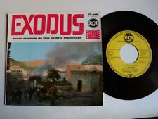 "EXODUS , B.O. film de Otto Preminger / ERNEST GOLD & LSO 7"" EP French RCA 75.646"