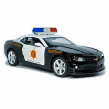 1/32 Chevrolet Camaro Sheriff Car Model Diecast Toy Vehicle Collection Kids Gift