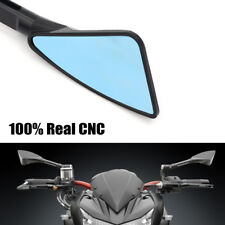 2x CNC Motorcycle Motorbike Bar End Mirrors 22mm Streetfighter Cafe Racer Custom
