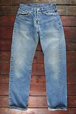 VTG 70s LEVI'S 501 BLUE SELVEDGE DENIM REDLINE JEANS LITTLE E USA W28 L32