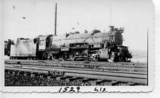 9G550 RP 1940s PENNSYLVANIA RAILROAD 2-8-2 LOCO #1529 THORNDALE PA