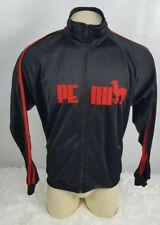 Cuy Arts Peru Jacket Men Size XL Warm Up Full Zip Black W/Red