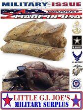 """(1) NEW Military Issue USGI Body Sniper Veil Desert Camouflage Netting 96"""" x 60"""""""