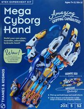 Mega Cyborg Hand STEM Experiment Kit Pneumatic & Hydraulic Technology 620501