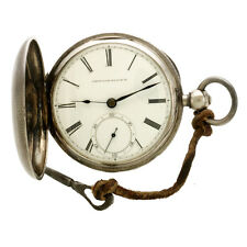 18-Size Coin Waltham Key-Wind/Key-Set Civil War Era Pocket Watch Watch with Key
