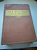 """CAR BUILDERS' CYCLOPEDIA"" (TRAINS) SEVENTEENTH EDITION  1946"