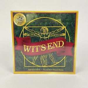 Wit's End Board Game 2018 Edition Adult Party Game Brand New Sealed
