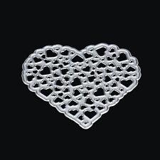 Flower Heart Metal Cutting Dies Stencils DIY Scrapbooking Album Paper Card Craft