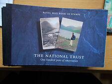DX17 £6 National Trust Prestige Booklet Complete - At Under Face - Cat £25