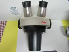 LEICA STEREO ZOOM 6 HEAD MICROSCOPE WITHOUT EXTERNAL OPTICS AS IS BIN#H1