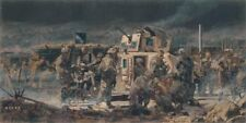 """""""At the End of the Day"""" James Dietz Artist Proof - 3-509th Paratroopers in Iraq"""