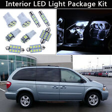 15PCS Pure White LED Interior Lights Package kit Fit 2001-2007 Dodge Caravan J1