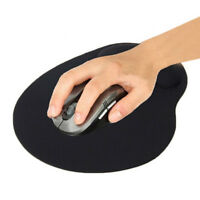 Practical Thin Wrist Support Cloth Mouse Pad Mice Mat for Computer - Black sum
