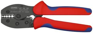 KNIPEX 97 52 30 PreciForce® Crimpzange brüniert 220 mm