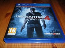 Uncharted 4: A Thief's End for Sony PlayStation 4 (PS4)