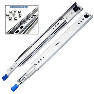 22 Lengths Available In 10 Bokaiya 5 Pair of 18 Inch Full Extension Side Mount Ball Bearing Sliding Drawer Slides 20 16 14 18 12