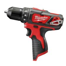 "Milwaukee 2407-20 12V  Li-Ion 3/8"" Cordless Drill/Driver (Bare Tool) NEW"