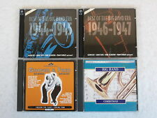 LOT OF 4 BIG BAND  CDS