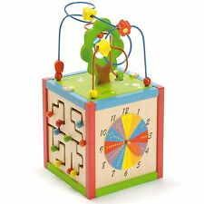 East Coast Nursery Baby / Child / Kids Activity Cube / Toy - 5 Sides Of Fun
