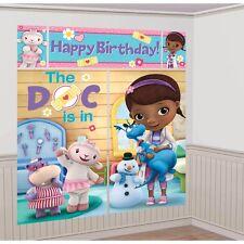"65"" Disney Doc Mcstuffins Scene Setter Add on Birthday Party Decoration"