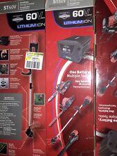 Snapper St60V 60 Volt Cordless Trimmer Includes (1) 60V Battery and Charger New!