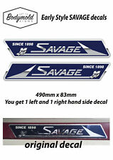 SAVAGE Boat Decals/Stickers. Older Style