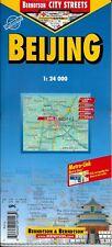 Map of Beijing, (Peking) China Laminated & Folded by Berndston Maps