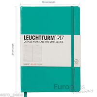 Leuchtturm1917 Medium A5 Notebook - Ideal Bullet Journal - Choose Colour & Paper