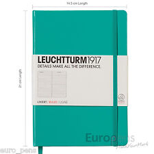 Leuchtturm1917 Medium A5 Notebook - Ideal Bullet Journal - Choose Colour & Paper
