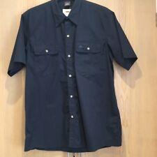 BNWT Wynnster Outback Mens Shirt XL Short Sleeved Navy Blue New Casual Summer