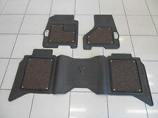 Factory OEM Genuine MOPAR Laramie Longhorn Front Rear Luxury Floor Mat Set
