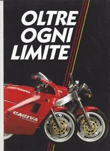 Cagiva Mito 125 rot 7speed Original Prospekt brochure