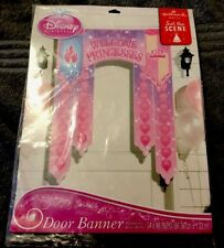 Disney PRINCESS Dream Party ~ (1) Door Poster / Banner ~ Birthday Party Supply