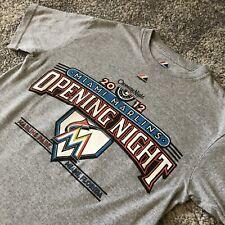 2012 Majestic Mlb Miami Marlins Opening Night Baseball Shirt Mens Small